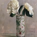 Object Lesson: Winter White,Peonies by Auseklis Ozols