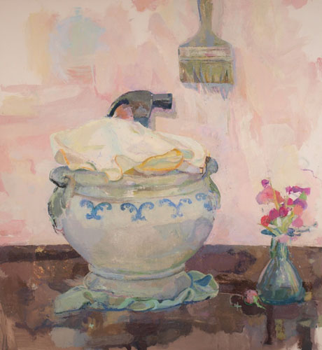 Read more about the article Xico Greenwald: Paintings, on the Table